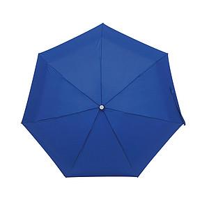Skládací deštník v obalu, modrý