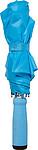 Skládací manuální deštník, světle modrý