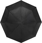 KALAM Skládací automatický deštník (190T), větruvzdorný, sv. šedý - reklamní deštníky