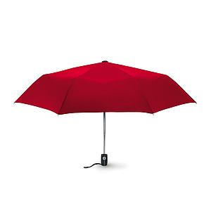 """21"""" automatický deštník, červená"""