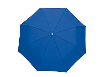 Skládací deštník s karabinou tmavě modrá