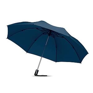 Skládací automatický O/C deštník, modrý