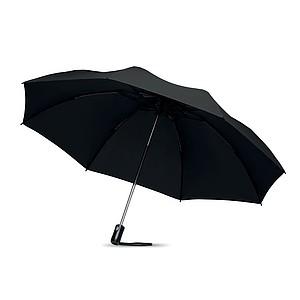 Skládací automatický O/C deštník, černý
