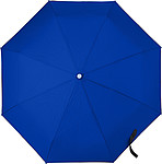Skládací automatický OC deštník, rozměry 95 x 30 cm, modrý - reklamní deštníky