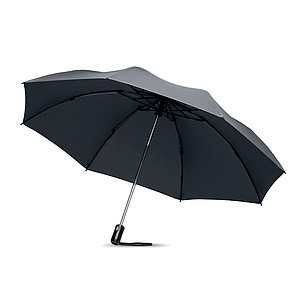 Skládací automatický O/C deštník, šedý - reklamní deštníky