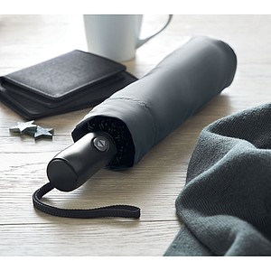 Skládací automatický O/C deštník, šedý