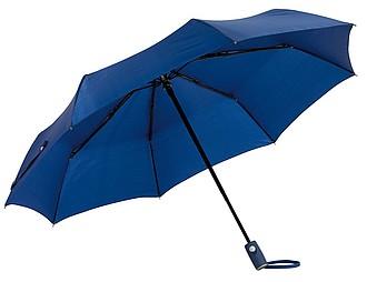 BURIAN Automatický open/close skládací deštník, pr. 101cm, modrý - reklamní deštníky