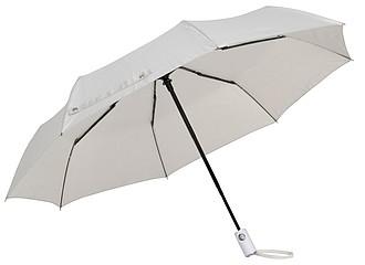 BURIAN Automatický open/close skládací deštník, pr. 101cm, béžová - reklamní deštníky