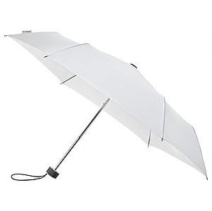 BESIR Skládací ultra lehký deštník s odlehčenou konstrukcí, bílá - reklamní deštníky