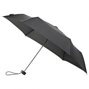 BESIR Skládací ultra lehký deštník s odlehčenou konstrukcí, černá - reklamní deštníky