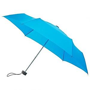 BESIR Skládací ultra lehký deštník s odlehčenou konstrukcí, světle modrá - reklamní deštníky