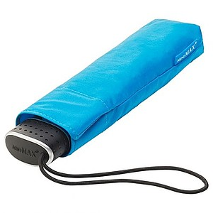 BESIR Skládací ultra lehký deštník s odlehčenou konstrukcí, světle modrá