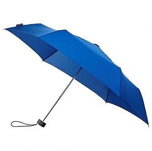 BESIR Skládací ultra lehký deštník s odlehčenou konstrukcí, tmavě modrá - reklamní deštníky