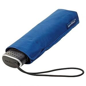 BESIR Skládací ultra lehký deštník s odlehčenou konstrukcí, tmavě modrá