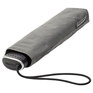 BESIR Skládací ultra lehký deštník s odlehčenou konstrukcí, šedá