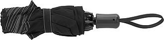 Skládací automatický OC deštník, pr. 105cm, černý