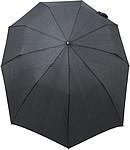 LAKAB Skládací automatický deštník, pr. 110cm, černý - reklamní deštníky