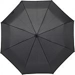 Skládací manuální deštník, pr. 98cm, černý