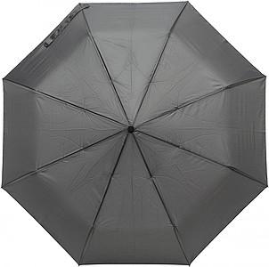 Skládací automatický deštník, pr. 97cm, černý