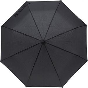 Skládací automatický deštník, pr. 98cm, černý