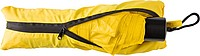 Skládací deštník s taškou, žlutý