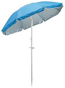 PAROT Plážový slunečník, dvoudílná tyč, pr.156cm, modrý - reklamní deštníky