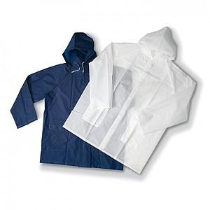 Pláštěnka s kapucí, transparentní