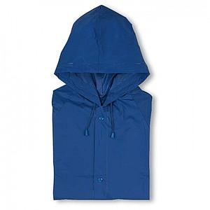 Pláštěnka z PVC materiálu, modrá