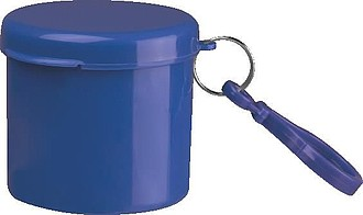 Dešťové pončo v plastové krabičce,modrá