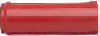 SKOTA Sada manikúrních pomůcek se zrcátkem, červená ručníky s potiskem