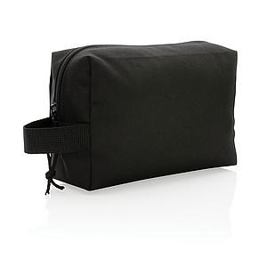 Základní toaletní taška Impact z RPET AWARE™, černá