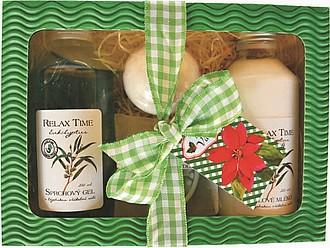 RELAX TIME dárková sada kosmetiky s eucalyptem