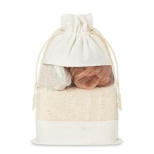 FRONTERA Koupelnový set v sáčku ručníky s potiskem