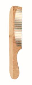 Bambusový hřeben, středně hnědá