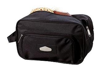 Toaletní taška, 600D, černá