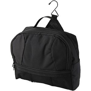 Kosmetická taška na zavěšení, černá
