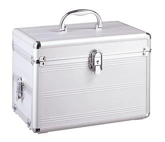 hliníkový kosmetický kufřík