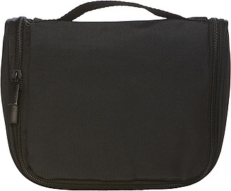 Kosmetická taška, černá ručníky s potiskem