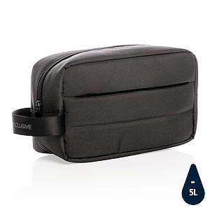 Toaletní taška Impact z RPET AWARE™, černá