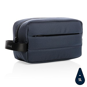 Toaletní taška Impact z RPET AWARE™, námořní modrá