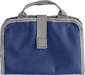 BRITNEY Toaletní taška se síťovanou kapsou, modrá