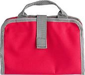 BRITNEY Toaletní taška se síťovanou kapsou, červená