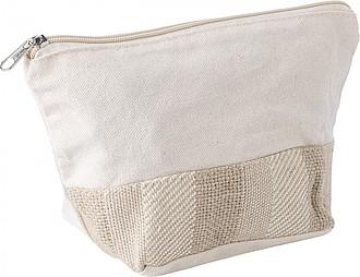 Bavlněná kosmetická taška