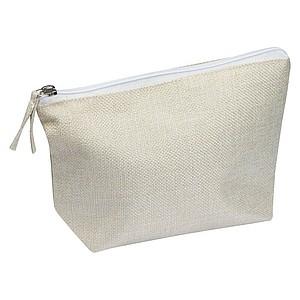 Sublimační kosmetická taška,béžová