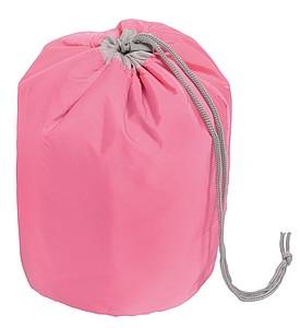 GETAFA Stahovací kosmetická taška, růžová ručníky s potiskem