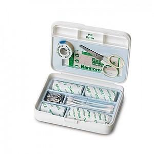 ZOGRAF Plastová lékárnička, 9 kusů, bílá