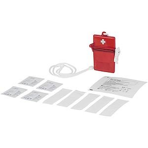 HELP Sada první pomoci v plastové krabičce, červená