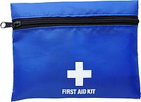 První pomoc v modré nylonové taštičce na zip
