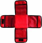 Příruční sada první pomoci v nylonovém obalu, červená