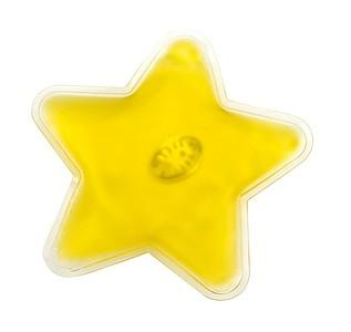 Hřejivý polštářek ve tvaru hvězdy